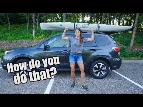 How I Lift My 95-Pound Fishing Kayak Onto My Car (Solo)