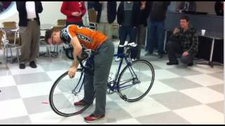 Mistrz wymiany dętki rowerowej