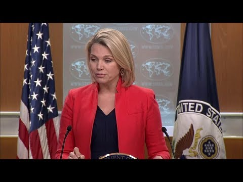 Department Press Briefing - May 17, 2018