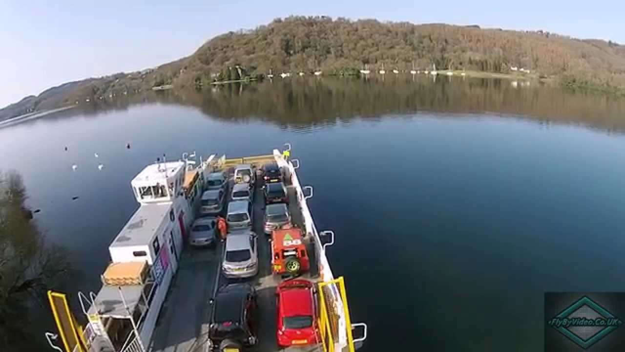 Lake District Windermere Car Ferry Youtube