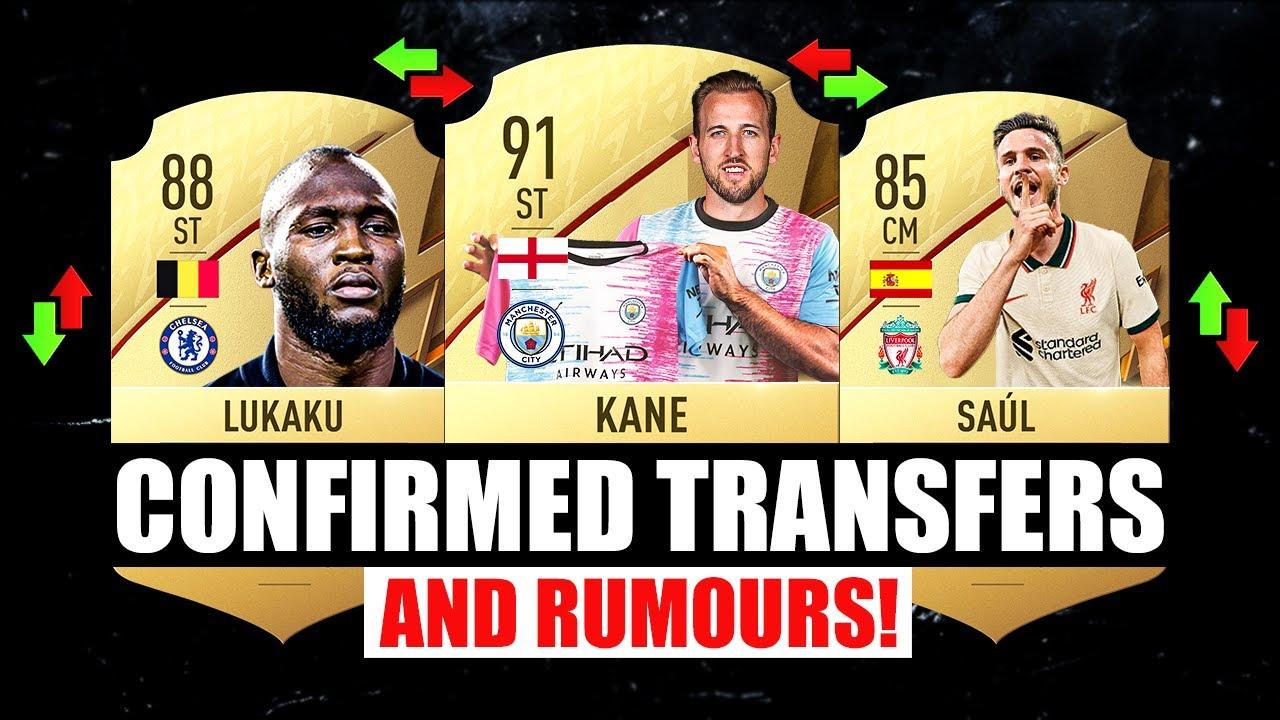 FIFA 22 | NEW CONFIRMED TRANSFERS & RUMOURS! 🤪🔥 ft. Kane, Lukaku, Saul…