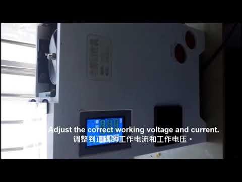 Precious metal electrolytic recovery machine