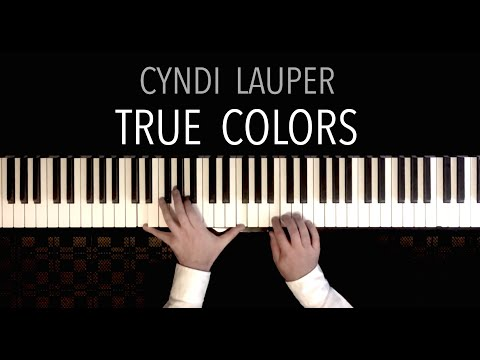 "Cyndi Lauper - ""True Colors"" - Piano Cover Improvisation by Paul Hankinson"