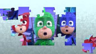 PJ Masks Owlette Gekko Catboy Jigsaw Puzzle Game and Fun Song For Kids