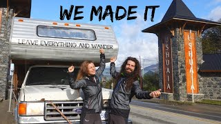THE FIRST YOUTUBE COUPLE DRIVING from ALASKA to ARGENTINA with a TRUCK CAMPER / Overlanding America