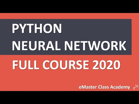 Neural Network (Supervised Learning) - Python Crash Course 2020 [FULL COURSE]