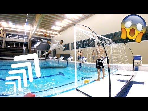 EXTREME SWIMMING POOL FOOTBALL CHALLENGES!!