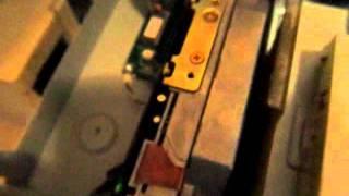 Old, loud MFM hard drive runs performance test