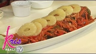 Pokwang's sweet and sour lapu-lapu