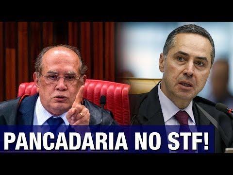 URGENTE: Gilmar Mendes e Barroso batem boca em pleno STF e discussão quase termina em pancadaria
