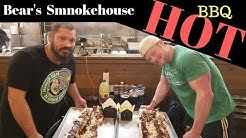 $500 Prize for 9lbs of HOT Bearwich !!!   Bears Smokehouse in Windsor CT with Nick Wehry
