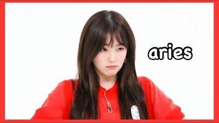 Female idols acting as their zodiac