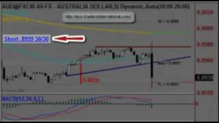 FOREX {Trade of the Day} - A quick 30 pips - 12th August 2010