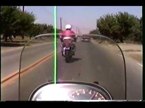 1983 Suzuki Katana 1100/Yamaha SRX 600 Patterson, California circa. 1988