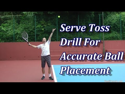 """Tame Your Serve Toss With The """"Keep Lifting"""" Drill"""