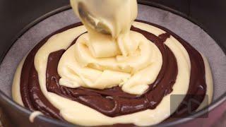 Торт Зебра рецепт на сметане в домашних условиях