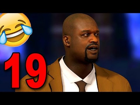 NBA 2K17 My Player Career – Part 19 – WTF IS SHAQ SAYING?!