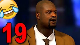 nba 2k17 my player career part 19 wtf is shaq saying