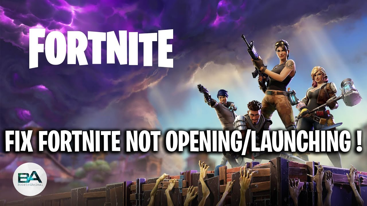 FIX Fortnite not opening with Epic Games [ SEASON 9 ...