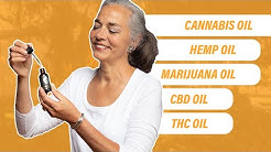 CBD Oil VS THC Oil - What's the Difference?