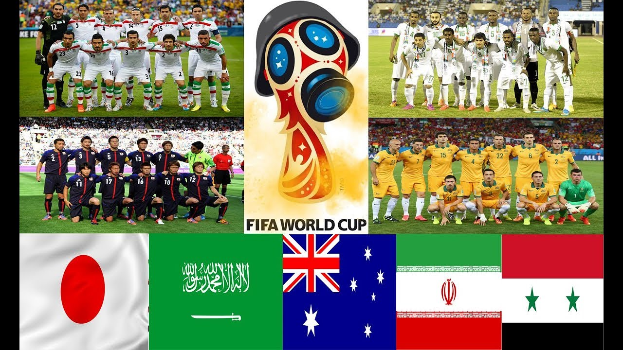 Livescore World Cup 2018 Asia
