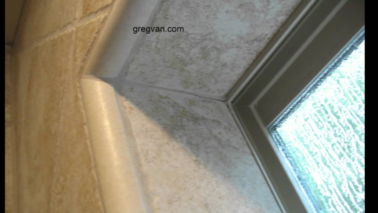 How To Fix Cracks In Tile Grout Shower Corners Bathroom Repairs Youtube