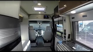 Walk Through 2015 Winnebago ERA 70C Class B RV Motorhome Mercedes Benz Sprinter Van With Slide Out