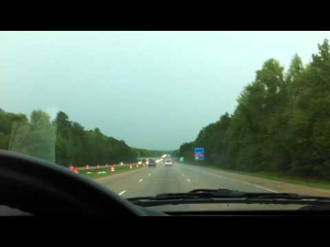 Driving into Tornado going West on I30 from Little Rock AR Sept 2012 A