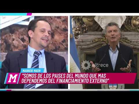 Día caliente en la economía Argentina: Macri pidió crédito al FMI