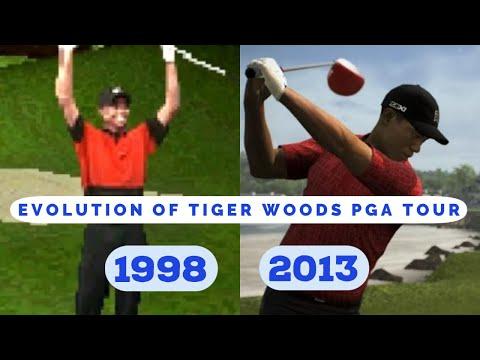 Evolution Of Tiger Woods PGA Tour (1998 - 2013)