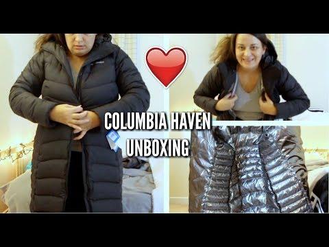COLUMBIA HAVEN DOWN COAT UNBOXING-reupload