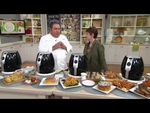 How to Use  the Air Fryer Pro System with Jane Treacy and Emeril