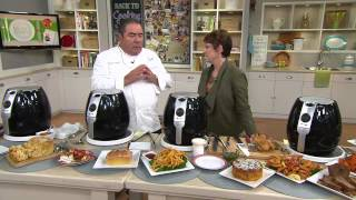 Emeril 3.5 qt. Air Fryer Pro System with Jane Treacy