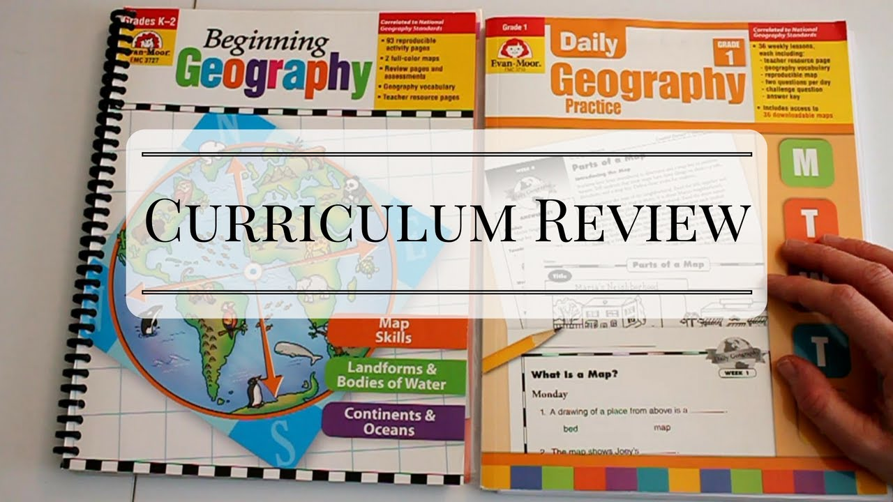 Curriculum Review: Evan Moor - Beginning Geography (Grades K-2)