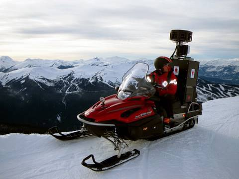 Thumbnail: Introducing the Street View snowmobile