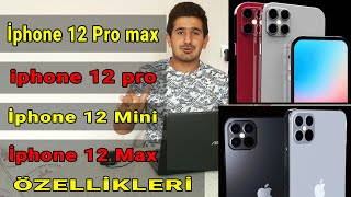 Apple İphone 12 mini  ,İphone 12 pro max  özellikleri , İphone 12pro , İphone 12max özellikleri