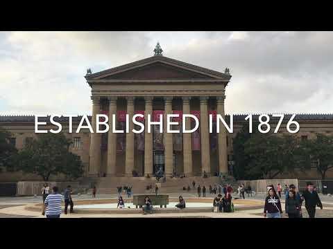 Visit inside the Philadelphia museum of Art