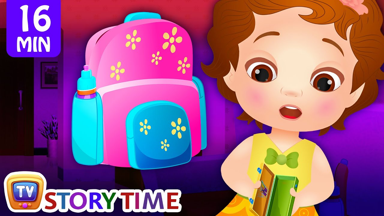 ChuChu Loses School Supplies + More Good Habits Bedtime Stories & Moral Stories for Kids – ChuCh