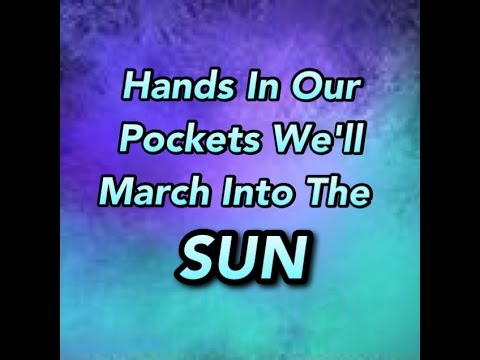 Echosmith- March Into The Sun (Lyrics)