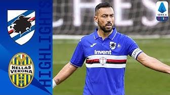 Sampdoria 2-1 Hellas Verona | Quagliarella Scores Late Winner! | Serie A TIM