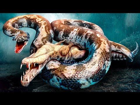 Причиной исчезновения динозавров могла стать гигантская змея