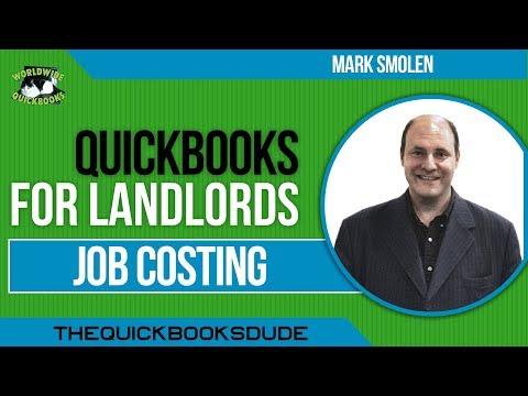 QuickBooks For Contractors - Job Costing