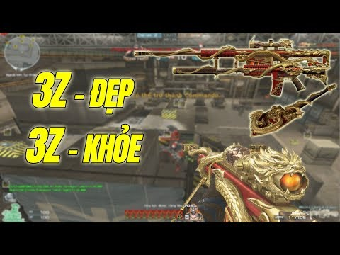 BÌNH LUẬN CF : 3Z-Royal 6 (Barrett-Eternal Dragon) Bắn ZombieV4