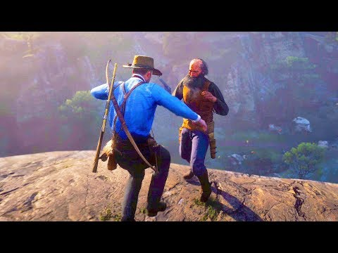 Red Dead Redemption 2 - Epic Brutal & Funny Moments Compilation #13
