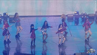 190223 4K Z-GIRLS What You Waiting For [Z POP DREAM 콘서트] 직캠(fancam) by 포에버