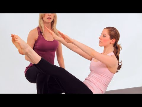 How to Do Teaser 1 | Pilates Workout