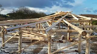Lodge build progress