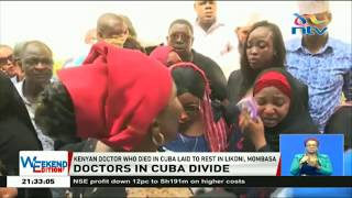Doctor Juma who committed suicide in Cuba laid to rest