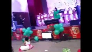 Seethala Sulanga Hamai - ministering at the Christmas outreach of KRC Dubai