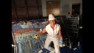 CHRISTINA D. YIELDING | LIVE PAINTING DEMONSTRATIONS